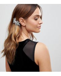True Decadence - Diamante Hair Comb - Lyst