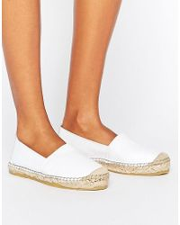 SELECTED - Femme Marley New Leather Espadrilles - Lyst