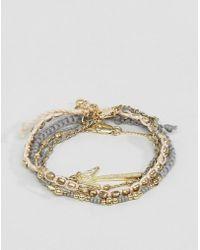 Pieces - Bracelet Set - Lyst