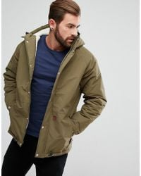 Fat Moose - Sherpa Lined Parka Coat With Hood - Lyst