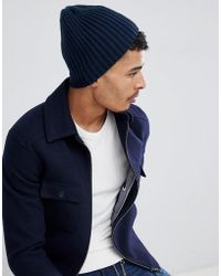 Jack & Jones - Ribbed Beanie - Lyst