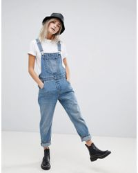 Cheap Monday - Chore Dungaree - Lyst