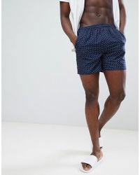 French Connection - Dot Swim Shorts - Lyst