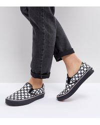 Vans - X Lazy Oaf Slip On Trainers - Lyst