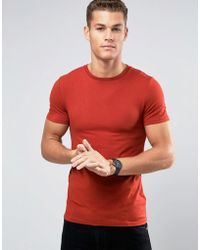7d7b91ef1 ASOS Extreme Muscle Fit T-shirt With Deep V Neck 3 Pack Save for Men ...
