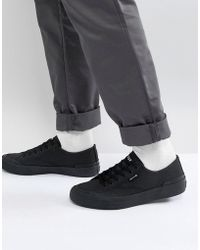 Huf - Classic Lo Trainers In Black - Lyst