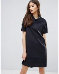 ADPT - Cord Shirt Dress - Lyst