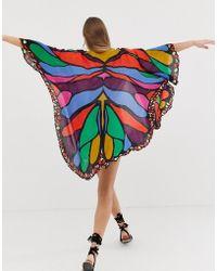 ASOS - Butterfly Festival Kimono Cape - Lyst