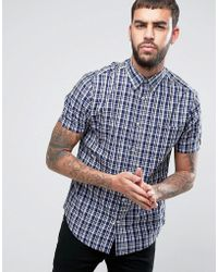 Ben Sherman - Regular Fit Checked Shirt - Lyst