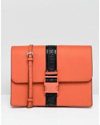 Armani Exchange - Buckle Crossbody Bag - Lyst