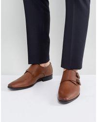 ALDO - Nodia Monk Shoes In Tan - Lyst