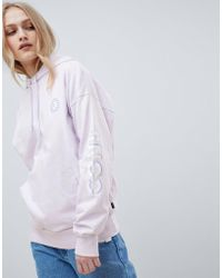 Converse - Cons Skate Boarding Hoodie In Lilac - Lyst