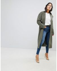 ASOS - Asos Statement Mac With Buckle Detail - Lyst
