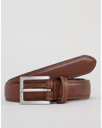 Original Penguin - Double Stitch Skinny Belt - Lyst