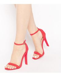 ASOS - Harness Heeled Sandals - Lyst