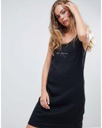 Calvin Klein - Dellen Logo Tank Dress - Lyst