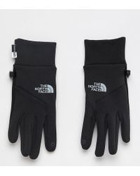 The North Face - Womens Etip Gloves In Black - Lyst