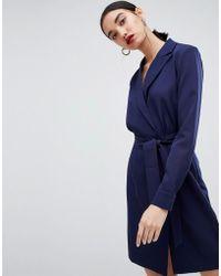 6b02bbd58 UNIQUE21 - Unique 21 Tailored Dress With Belt - Lyst
