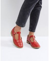 ASOS - Maxime Flat Shoes - Lyst