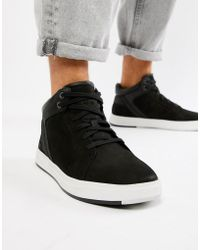 Timberland - Davis Square Chukka Boots In Black - Lyst
