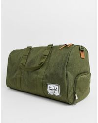 Herschel Supply Co. - Novel - Borsone 42.5 lt kaki crosshatch - Lyst