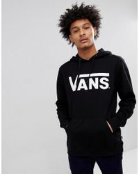 Vans - Classic Pullover Hoodie In Black V00j8ny28 - Lyst