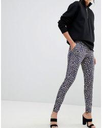 UNIQUE21 - Printed Trouser - Lyst