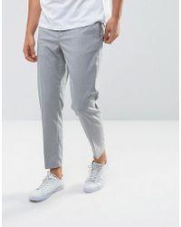 Mango - Man Smart Trouser In Grey - Lyst