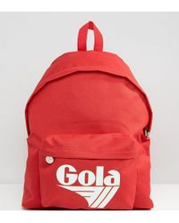 Gola - Exclusive Classic Backpack In Red And White - Lyst