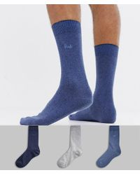 Pringle of Scotland - Endrick Socks 3 Pack - Lyst