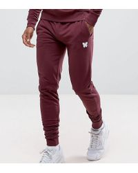 d049ab90 Majestic New York Yankees Skinny Joggers Exclusive To Asos in Blue for Men  - Lyst