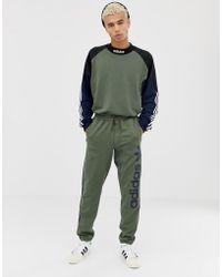 adidas Originals - Skateboarding Goalie - Felpa verde DH6658 - Lyst