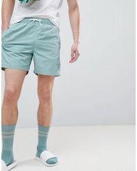Hackett - Mr. Classic Swim Shorts In Green - Lyst