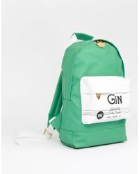 Mi-Pac - X Tatty Devine Mini Green Gin Backpack - Lyst