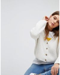 Esprit | Chenille Knitted Cardigan | Lyst