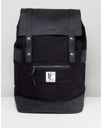 Forbes & Lewis - Leather Rider Backpack In Black - Lyst