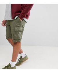French Connection - Short cargo fonctionnel style militaire - Lyst
