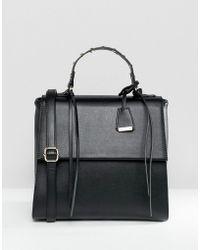 Glamorous - Black Grab Handle Bag - Lyst