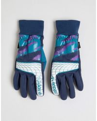 adidas Originals - Goalie Gloves In Blue - Lyst