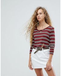 Pepe Jeans - Striped Long Sleeved T-shirt - Lyst