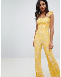 Flynn Skye - Bloom Print Jumpsuit - Lyst
