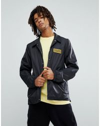 Volcom - Coach Jacket With Badge Logo - Lyst