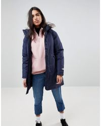 The North Face - Arctic Parka Women's Parka In Multicolour - Lyst