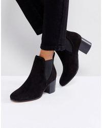 London Rebel - Heeled Chelsea Boots - Lyst