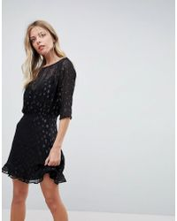 Isla - The Resistence Sheer Skater Dress - Lyst