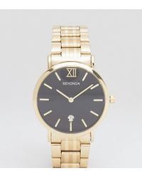 Sekonda - Bracelet Watch In Gold Exclusive To Asos - Lyst
