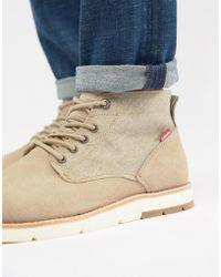 Levi's - Jax Chukka Boots In Sand - Lyst