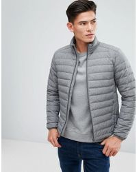 Esprit - Quilted Jacket In Real Down - Lyst