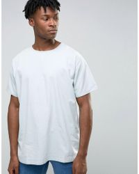 WÅVEN - Bleached Out Denim T-shirt - Lyst