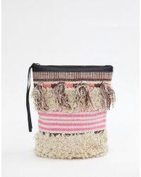 Cleobella - Gabby Textured Tassel Backpack - Lyst